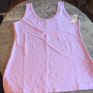Tank, premium Pima cotton. Size Large.